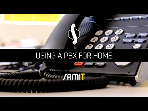 Using a PBX for Home