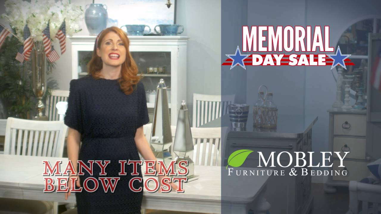Mobley Furniture Outlet: 2016 Memorial Day Sales Event