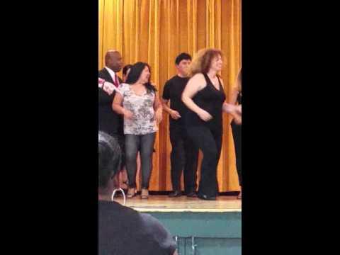 Cutler and Carlitos - North Main Street School Hispanic Heritage Celebration