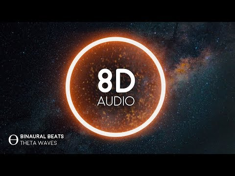 Flow State  8D  Binaural Theta Waves - Improve Concentration