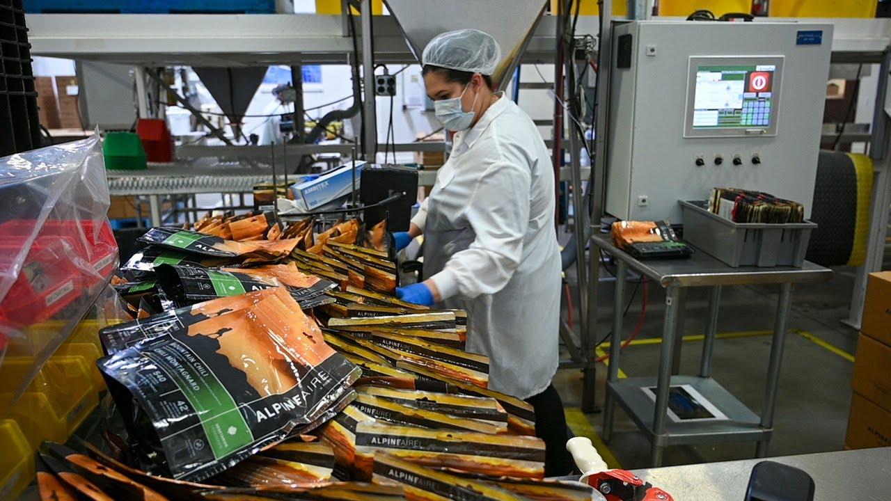 'The demand's been crazy,' says Rocklin survivalist food company in coronavirus era