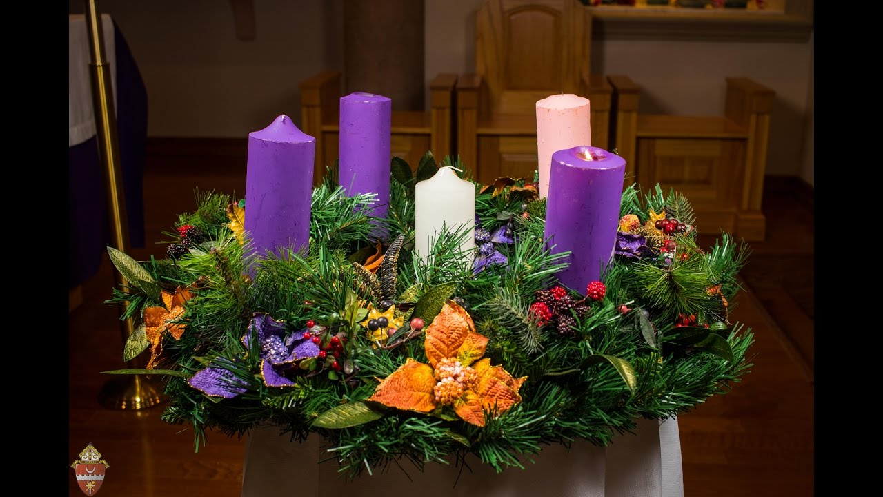 advent wreath instructional youtube