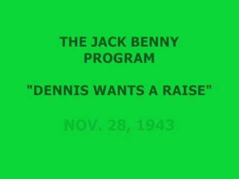 "Download THE JACK BENNY PROGRAM -- ""DENNIS WANTS A RAISE"" (11-28-43)"