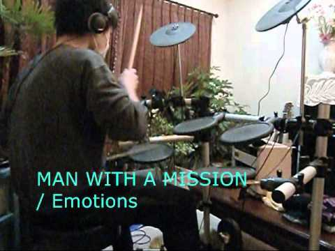 MAN WITH A MISSION**Emotions [叩いてみた] drum cover
