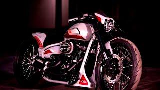 "#Harley-Davidson #FXDR ""Gran Turismo"" #Custom by Thunderbike"