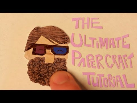 How to Make Paper Craft Stop-motion Cut-out Animation- Tutorial (Pt. 1)