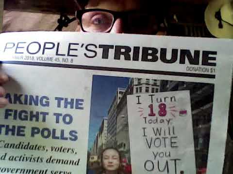 THE PEOPLE'S TRIBUNE.... A VOICE FOR US ALL