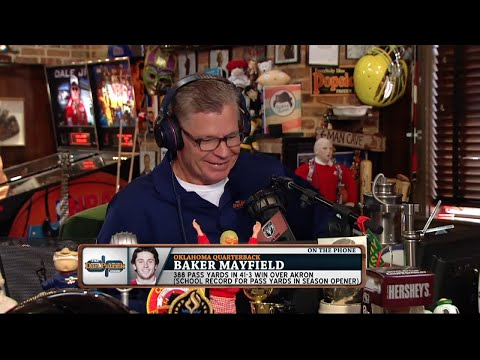 Baker Mayfield on The Dan Patrick Show (Full Interview) 9/15/15