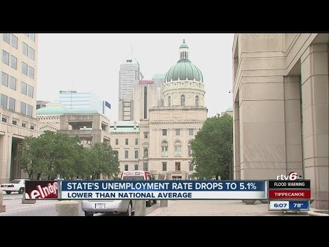 State's unemployment rate drops to 5.1 percent