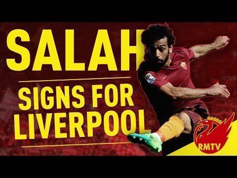 Mohamed Salah Signs For Liverpool! | Breaking News
