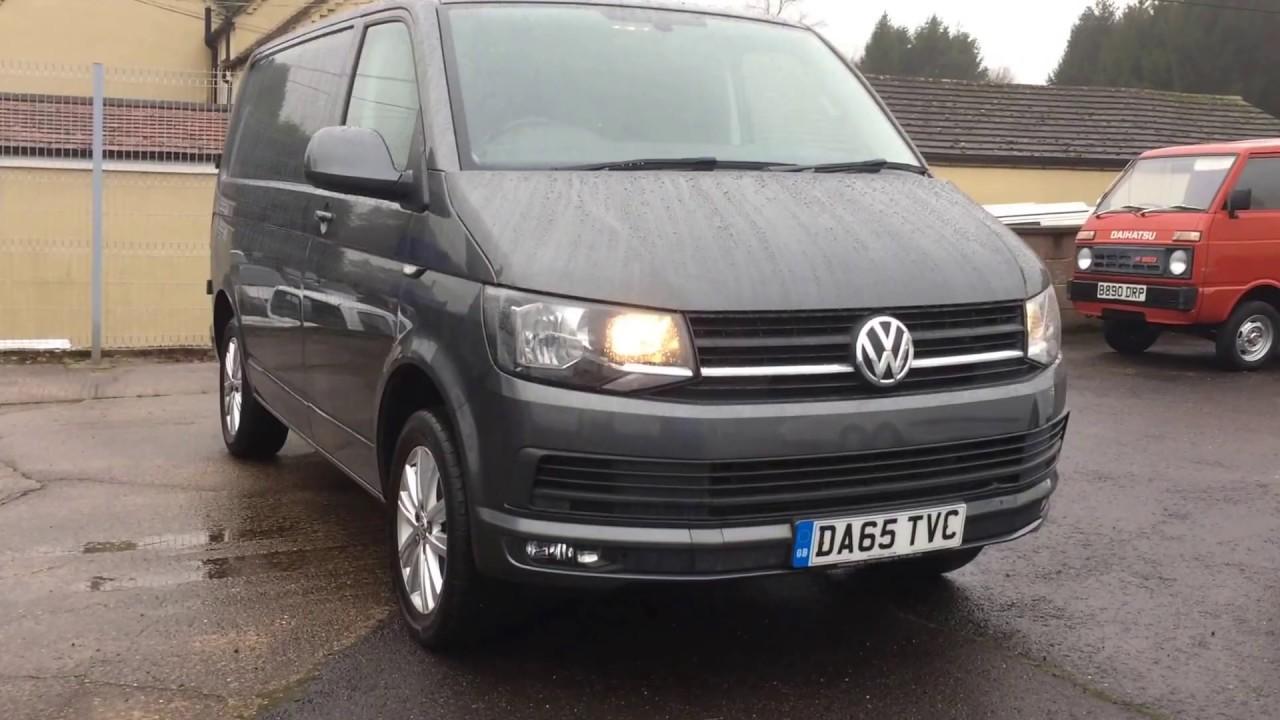 2016 Volkswagen Transporter T6 Van Review