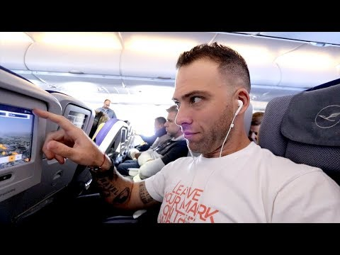 American TRAVELS To INDIA | Lufthansa Economy Class Review (MIA - MUC - BOM)