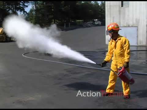 INDUSTRIAL FIRE BRIGADES: INCIPIENT LEVEL #4 Portable Fire Extinguishers 2
