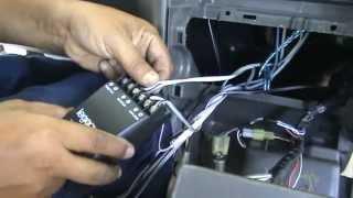 Avanza - 02. Pemasangan Kabel & Crossover pada Head Unit