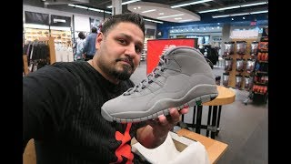 "JORDAN 10 ""COOL GREY"" CRAZY MALL VLOG!! WE STOLE"