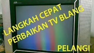 LANGKAH CEPAT TV SLIM POLYTRON GAMBAR BLANG PELANGI LANGSUNG PROTEK