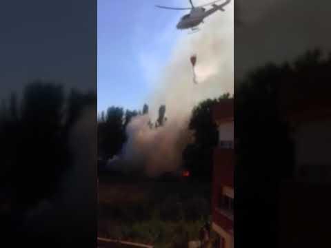 Incendio en Murillo de Río Leza