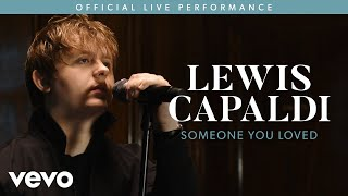Gambar cover Lewis Capaldi - Someone You Loved (Live) | Vevo LIFT