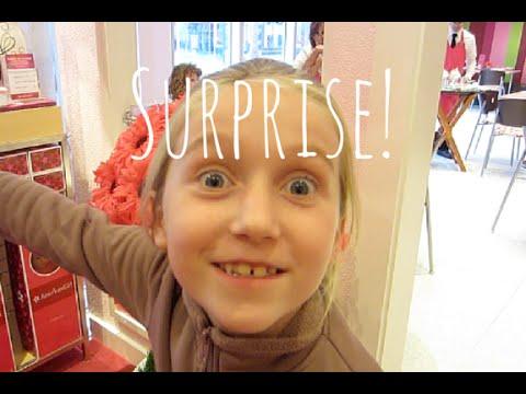 American Girl Bistro & Store Surprise! | American Girl Store Orlando