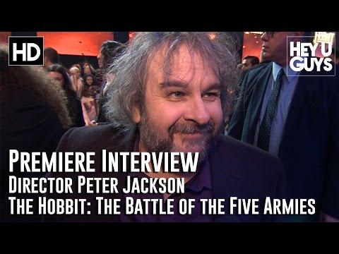 Director Peter Jackson Interview - The Hobbit: The Battle of the Five Armies Premiere