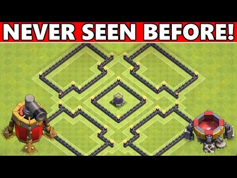Clash Of Clans   BEST TOWN HALL 8 (TH8) FARMING BASE DEFENSE! NEVER SEEN BEFORE! 2015