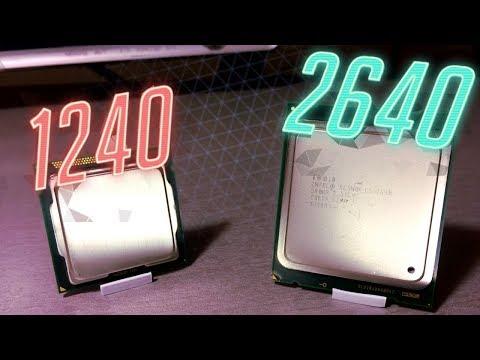 1155 против 2011 ROUND2 : E3 1240 VS E5 2640