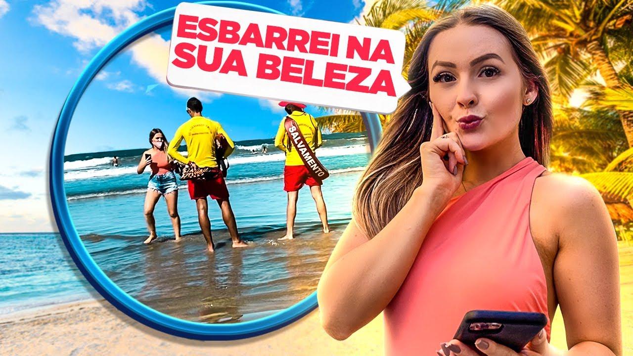 Download Dando CANTADAS na PRAIA *Reação das pessoas* ‹ Morgana Santana ›