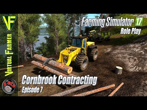 Wood Clearance | Cornbrook Contracting, Episode 7: Farming Simulator 17 Role Play
