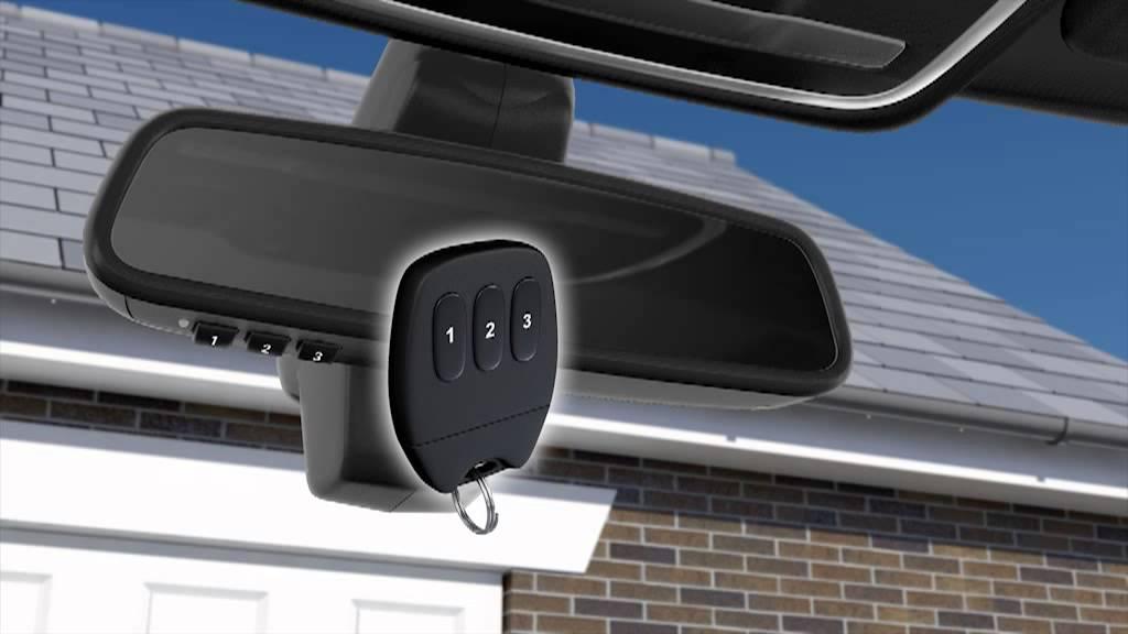How To Use The Garage Door Opener Range Rover Sport