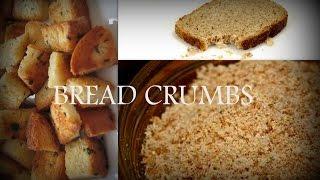HOW TO MAKE BREAD CRUMBS | Easycookingwithekta
