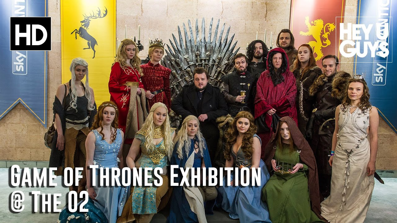 Game of Thrones Exhibition The O2