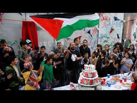 مظاهرات في الأراضي الفلسطينية احتجاجا على -وعد بلفور-  - 22:21-2017 / 11 / 2