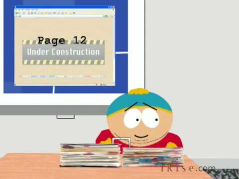 Cartman and South Park conduct a website review meeting (South Park Parody)