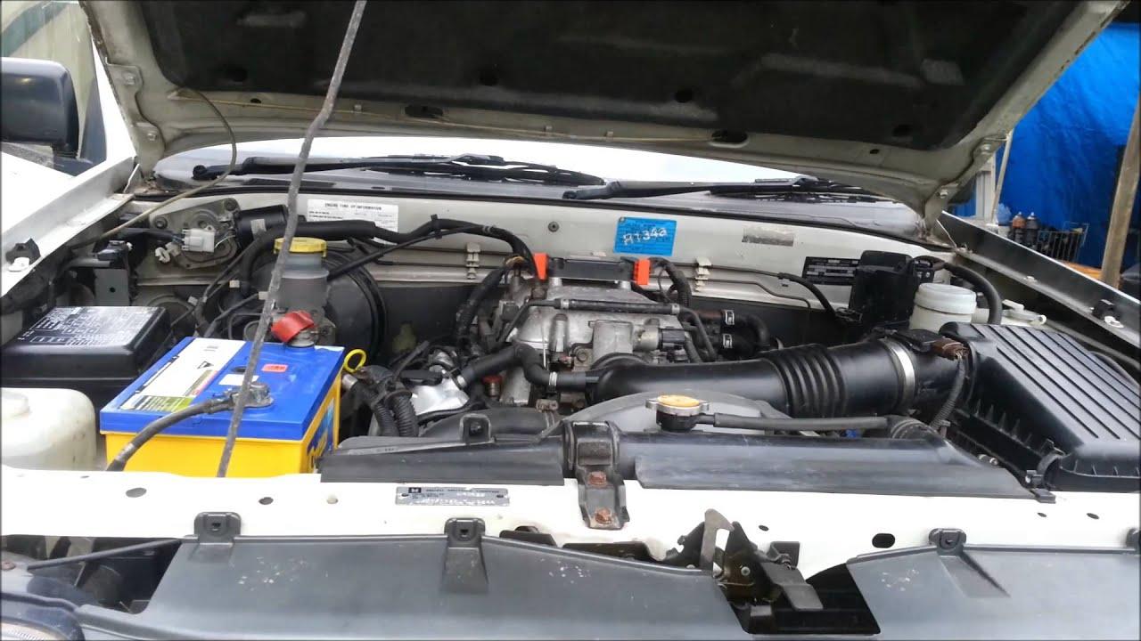 2001 Holden (Isuzu) Rodeo Start test after new Fuel Pump Install