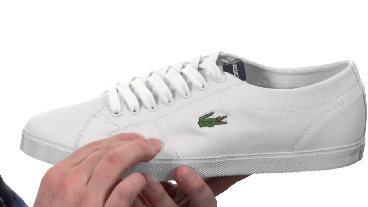 1f1a9219179 Boutique Chaussures Enfant Blanc Lacoste Marcel Htb Junior Blanche DS49P99