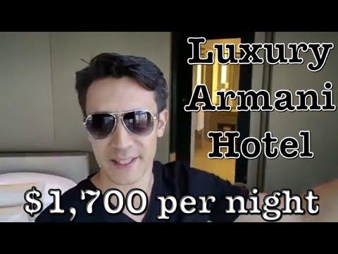 Luxury Armani Hotel in Dubai- $1700 Per Night (AMBASSADOR SUITE)