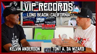 TONY VISION PRESENTS: CONVERSATIONS WITH KELVIN ANDERSON (VIP RECORDS)