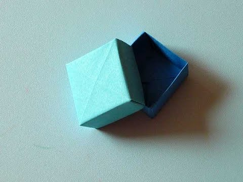Ring Box Origami Youtube