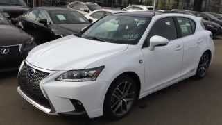 2015 Lexus CT 200h Hybrid F Sport Navigation Package Review