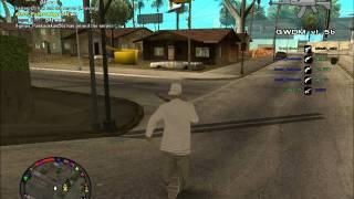 GTA San Andreas : Présentation du serveur Gang War