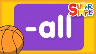 "Word Family ""all"" 
