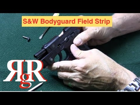 Smith and Wesson Bodyguard .380 Field Strip - YouTube