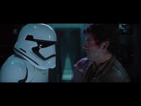 Finn and Poe Escape the First Order - Star Wars Eposode VII: The Force Awakens