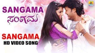 Sangama   Sangama HD Video Song   feat. Golden Star Ganesh, Vedhika   Devi Sri Prasad