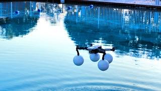 DJI Mavic pro 99mm float test