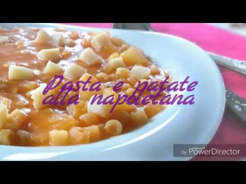 Ricetta KCook: Pasta e patate alla napoletana