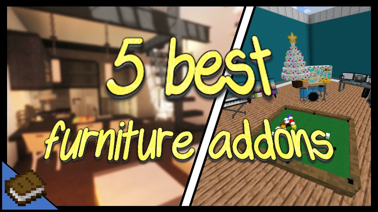 How to Install Furniture Addons MINECRAFT EDUCATION YouTube
