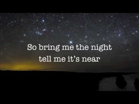 Bring me the night - Sam Tsui & Kina Grannis (lyrics)