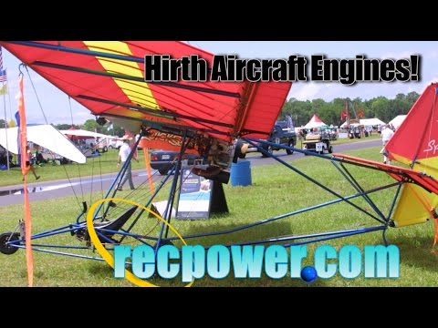 Hirth Aircraft Engines, Recreational Power Hirth Aircraft Engine Distributor for North America.