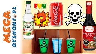 Nie wypij złego napoju  Challenge  Mystery drink  Monia i Agatka